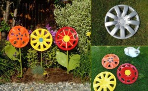 garden-decoration-ideas-old-things-car-rims-paint-flowers