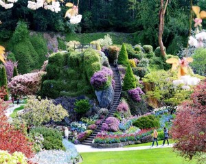 Butchart-Gardens-Brentwood-Bay-British-Columbia-Canada